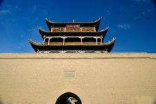 Free Jiayuguan Stock Image - 19756061