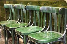 Free Green Chairs. Stock Images - 19756244