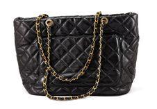 Black Bag Woman Royalty Free Stock Photos