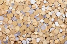 Free Ukrainian Coins Background Royalty Free Stock Images - 19756899