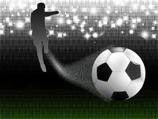 Free Soccer Background Stock Images - 19757424