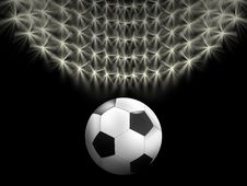 Free Soccer Background Royalty Free Stock Photography - 19757437