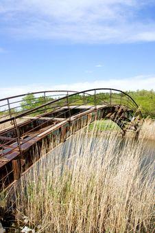 Free Old Iron Bridge Royalty Free Stock Photos - 19757508