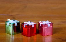 Free Tin Christmas Boxes Royalty Free Stock Photo - 19757635