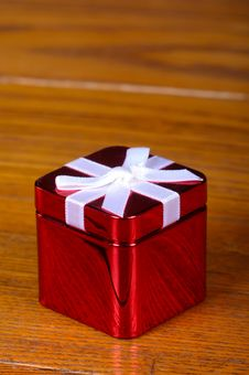 Free Tin Christmas Boxe Royalty Free Stock Photography - 19757657