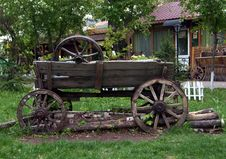 Free Wooden Wagon Stock Images - 19757834