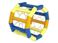 Free Inflatable Squirrel Wheel Toy Stock Photo - 19758450