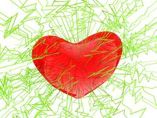 Free Transparent Color-full Heart Royalty Free Stock Images - 19759139