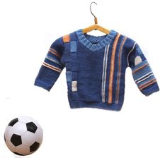 Free Chidren S Cardigan And Soccer Ball Royalty Free Stock Photo - 19759255
