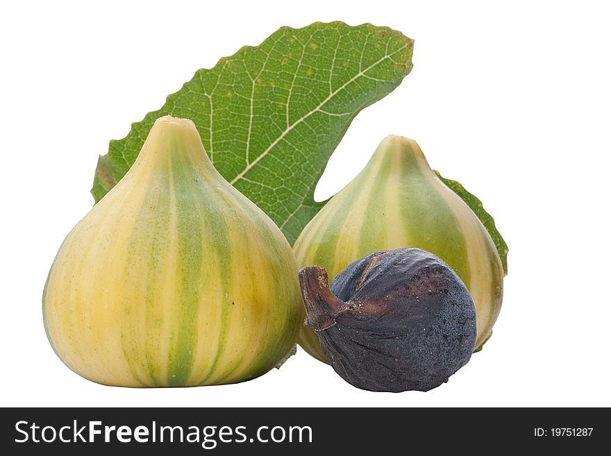 Ripe fruits of a fig