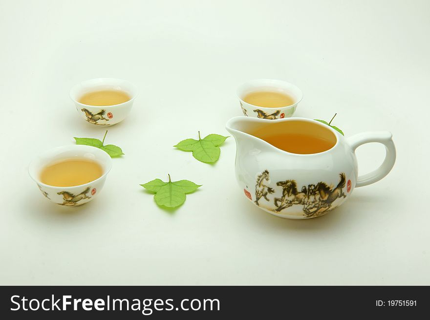 New bone china tea set