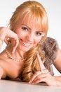 Free Nice Blonde Girl Posing Royalty Free Stock Image - 19760906