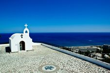 Free Little Church In Rhodes ,Greece Stock Photos - 19760203