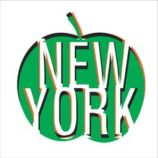 Free New York Vector Royalty Free Stock Photography - 19760727