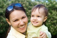 Free Mom And A Child Royalty Free Stock Photos - 19761008
