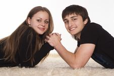 Free Portrait Of A Couple Stock Photography - 19761222