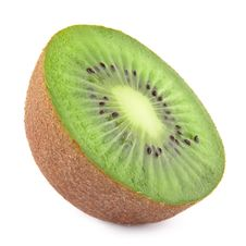 Free Half Kiwi Fruit Isolated Stock Images - 19761544