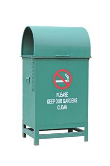 Green Waste Container Royalty Free Stock Photo