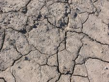 Free Dry Broken Soil. Stock Photo - 19762830