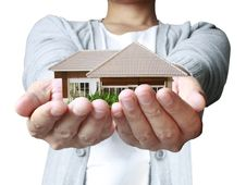 Free House In Human Hands Royalty Free Stock Photos - 19763208