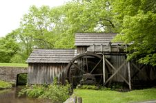 Free Historic Grist Mill Royalty Free Stock Photo - 19763285