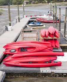 Free Kayaks Royalty Free Stock Photography - 19763347