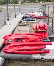 Free Kayaks Royalty Free Stock Photography - 19763347