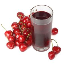 Cherry Nectar Royalty Free Stock Image