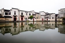 Free A Reflection Of Hongcun Village Stock Photo - 19764130
