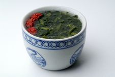 Free Chinese Healthy Vegetable Soup Royalty Free Stock Photo - 19764135