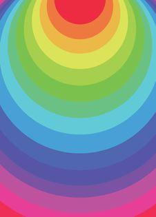 Free Rainbow Circles Stock Image - 19764951