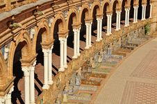Free A Detail In The Plaza Espana Seville Southern Spai Royalty Free Stock Image - 19765126