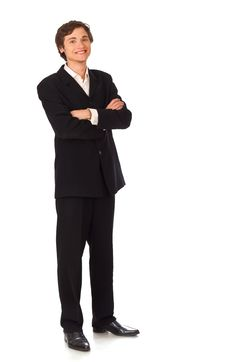 Confident Young Business Man Stock Photos