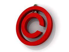 Free 3d Copyright Sign Stock Photos - 19765403