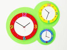 Free Three Nice Children S Watches Stock Photo - 19765790