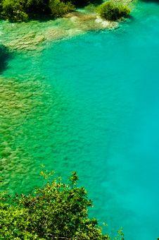 Free Peaceful Lake At Plitvice, Croatia Stock Images - 19766044