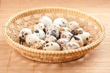 Free Quail Eggs Stock Photography - 19766792