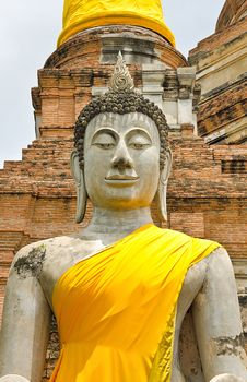 Free Ancient Buddha Statue Royalty Free Stock Images - 19767089