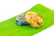 Free Thai Dessert (Kanom Babin) Royalty Free Stock Image - 19767106