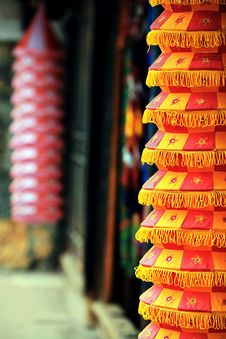Free Chinese Lanterns Royalty Free Stock Photography - 19767667