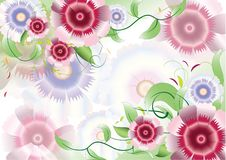 Free Color Flowers Background Royalty Free Stock Photos - 19768688
