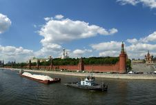 Free Russia, Moscow. Panoramic View Of The Kremlin Stock Photo - 19768720