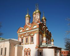 Free Monastery Russia Royalty Free Stock Photo - 19769425