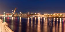 Free Panorama Of The Bridge Of A Name Of Volodarsky Stock Image - 19769801
