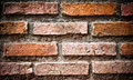 Free Brick Wall Grungy Stock Photography - 19770172