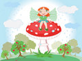 Free Forest Fairy Stock Photography - 19771212