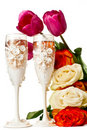 Free Wedding Glasses Royalty Free Stock Photo - 19773895