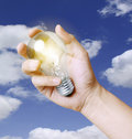 Free Light Bulb In Hand Stock Photos - 19779393