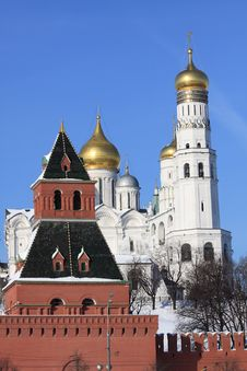 Free Moscow Kremlin Stock Photography - 19770312