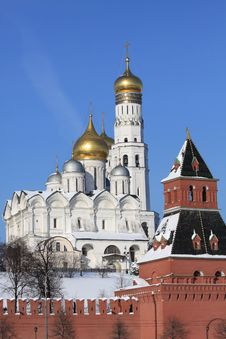 Free Moscow Kremlin Royalty Free Stock Photo - 19770435